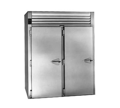 "Traulsen ARI232LPUT-FHS 68"" Two Section Reach-In Refrigerator, (2) Solid Doors, Roll-Thru, 115v"
