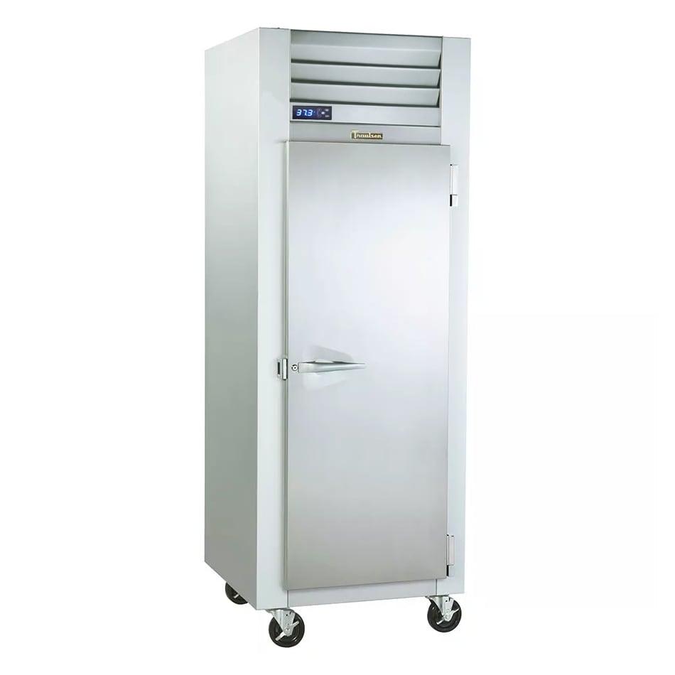 "Traulsen G10010 30"" Single Section Reach-In Refrigerator, (1) Solid Door, 115v"