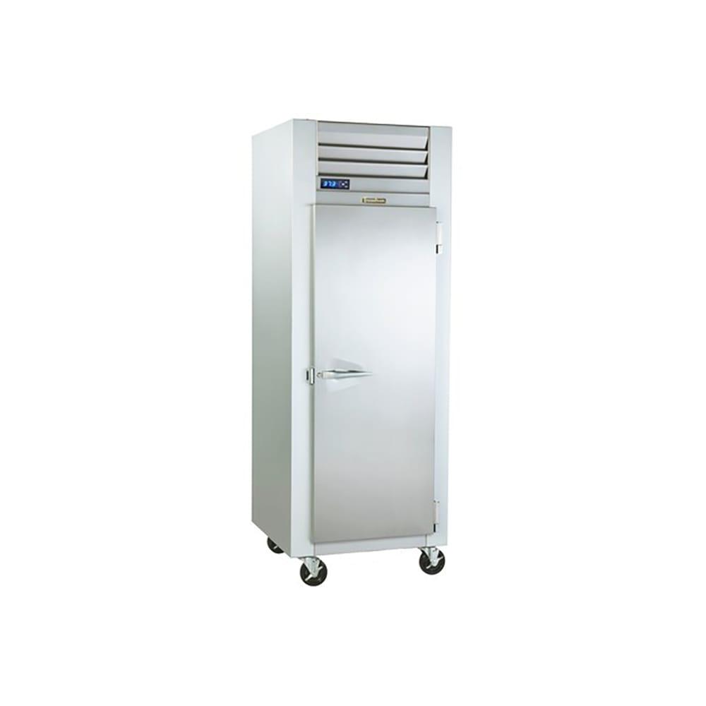 "Traulsen G10012P 29.87"" Single Section Pass-Thru Refrigerator, (1) Solid Doors, 115v"