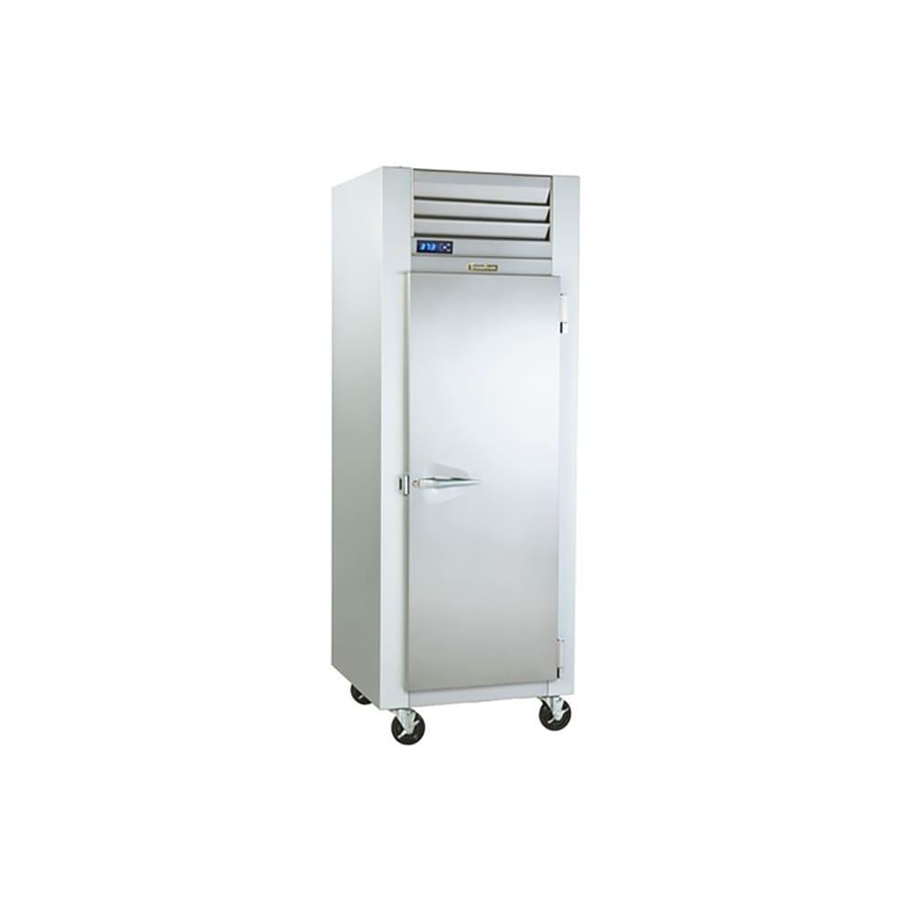 "Traulsen G10014P 29.87"" Single Section Pass-Thru Refrigerator, (1) Solid Doors, 115v"