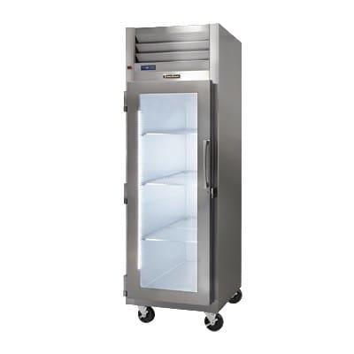 "Traulsen G13010-023 29.87"" Single Section Reach-In Freezer, (1) Glass Door, 115v"