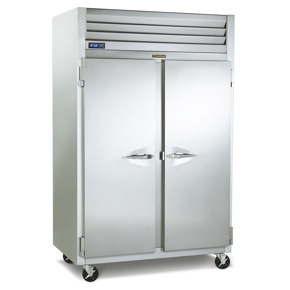 "Traulsen G22010 52"" Two Section Reach In Freezer, (2) Solid Doors, 115v"