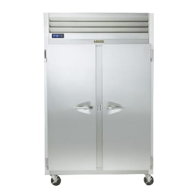 """Traulsen G22011 52"""" Two Section Reach-In Freezer, (2) Solid Doors, 115v"""