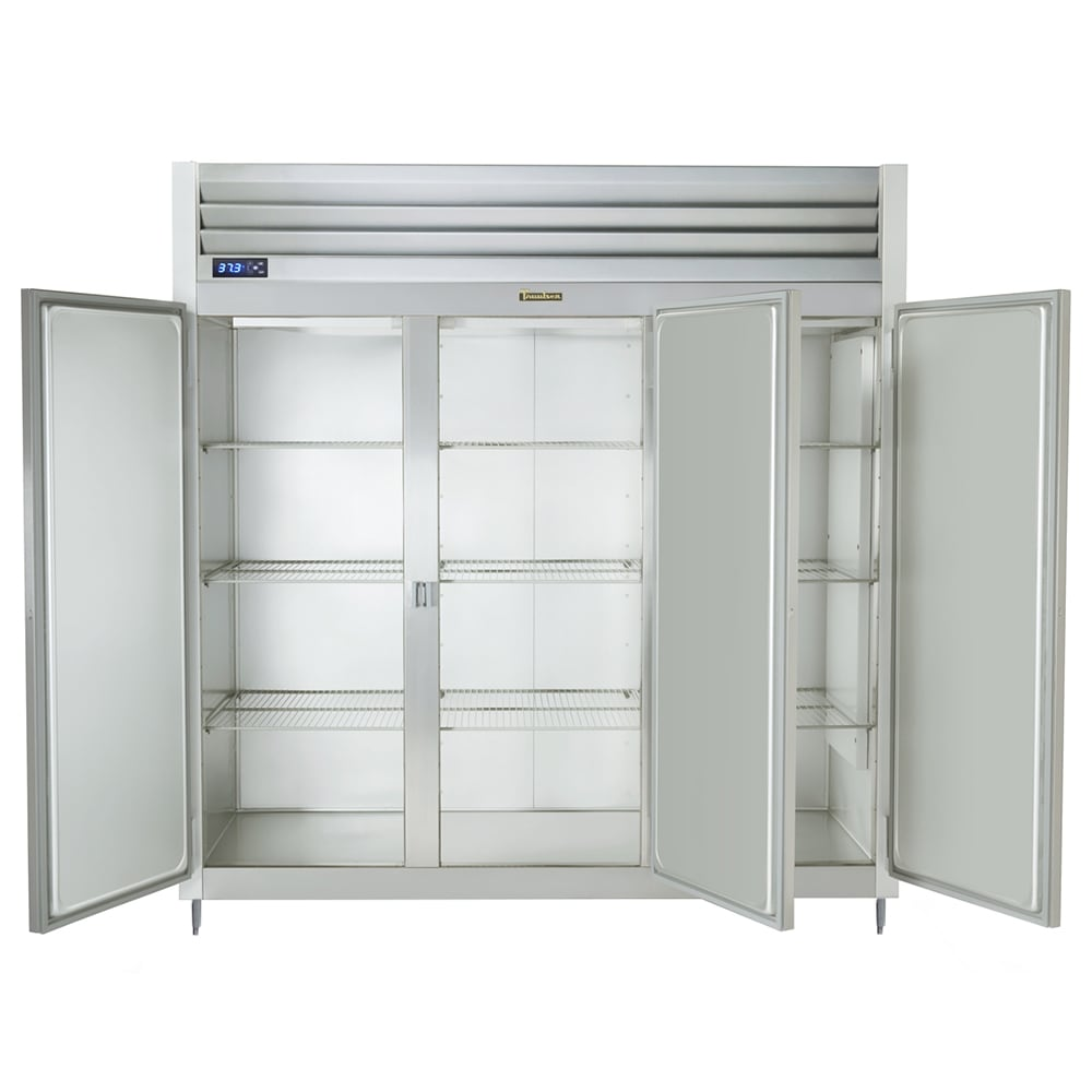 "Traulsen G31010 76"" Three Section Reach In Freezer, (3) Solid Doors, 115v"