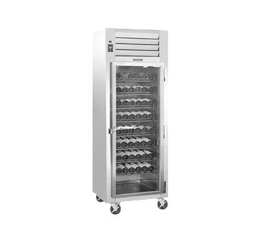 "Traulsen RH126W-WR01 30"" One Section Wine Cooler w/ (1) Zone - 120 Bottle Capacity, 115v"