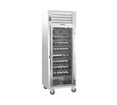 "Traulsen RH126W-WR02 30"" One Section Wine Cooler w/ (1) Zone - 120-Bottle Capacity, 115v"