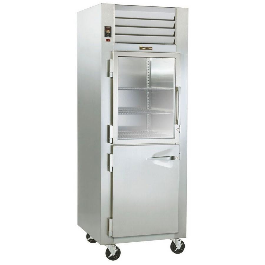 Traulsen RHF132W-HHG 208 1-Section Reach-In Heated Cabinet w/ Half Glass Door, 208/115 V