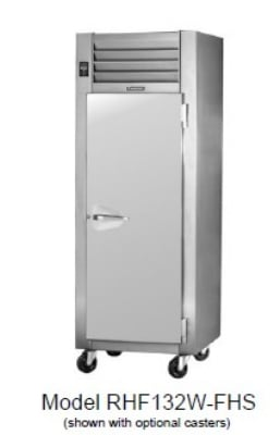 Traulsen RHF232W-FHG Full Height Insulated Mobile Heated Cabinet w/ (6) Shelves, 208v/1ph