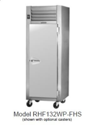Traulsen RHF232WP-FHG Full Height Insulated Mobile Heated Cabinet w/ (6) Shelves, 208v/1ph