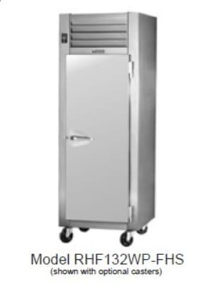 Traulsen RHF232WP-FHG Pass-Thru 2-Section Heated Cabinet w/ Full Glass Doors, 208/115 V