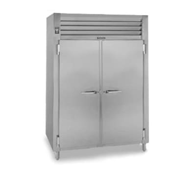 Traulsen RHF232WP-FHS Pass-Thru 2-Section Heated Cabinet w/ Full Solid Doors, 208/115 V