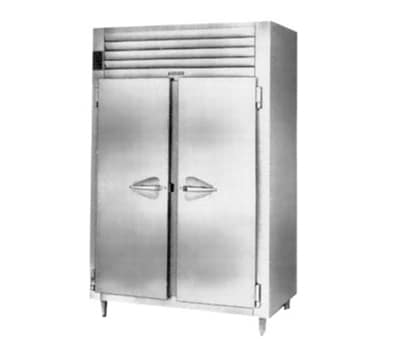 "Traulsen RHT232DUT-FHS 48"" Two Section Reach-In Refrigerator, (2) Solid Door, 115v"