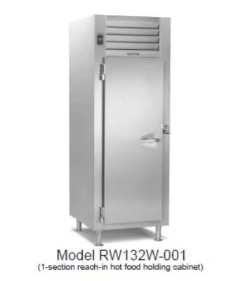Traulsen RI132LP-COR02 Full Height Insulated Roll Thru Heated Cabinet w/ (1) Rack Capacity, 208v/1ph