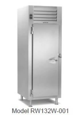 Traulsen RW132WP-COR02 Correctional 26.1-cu ft Pass Thru Heated Cabinet w/ Full Door, 208/115 V