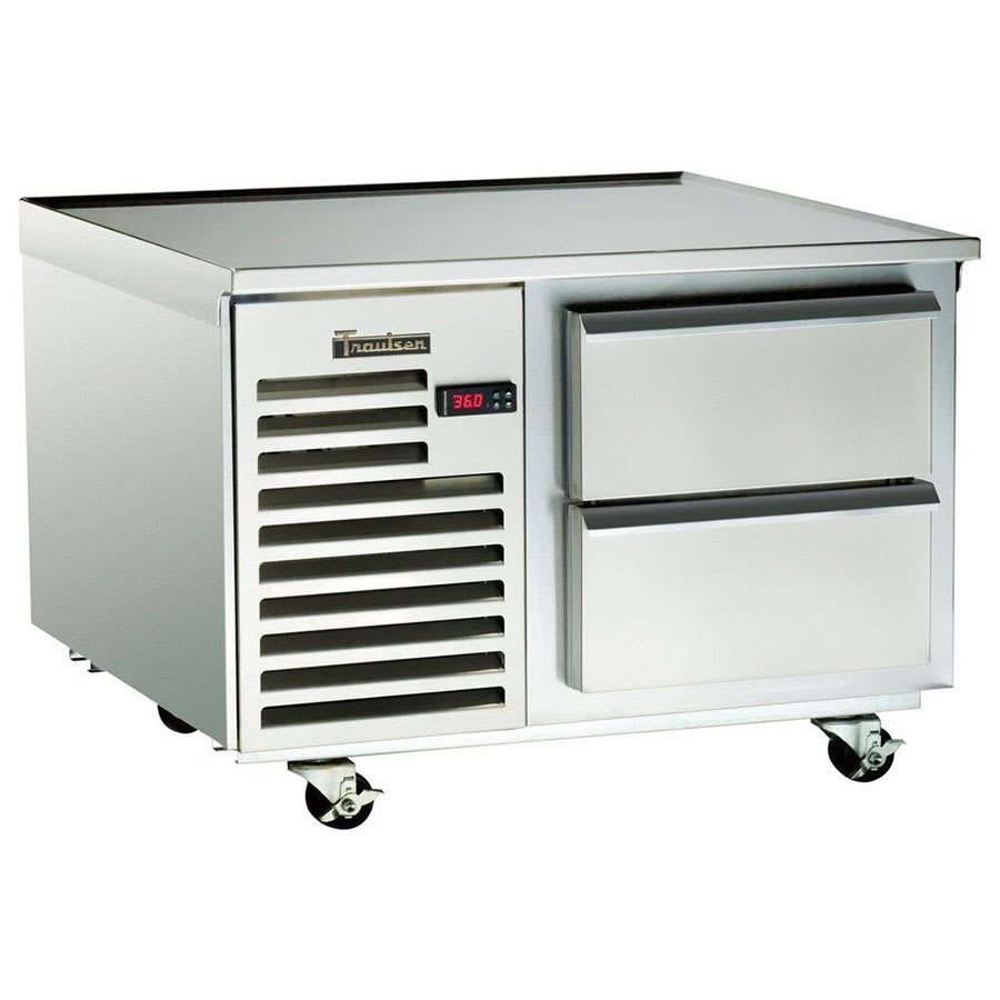 "Traulsen TE036HT 36"" Chef Base w/ (2) Drawers - 115v"