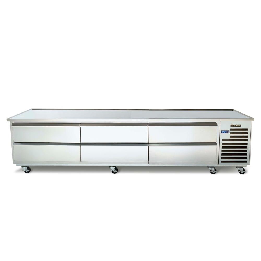 "Traulsen TE096HT 96"" Chef Base w/ (6) Drawers - 115v"