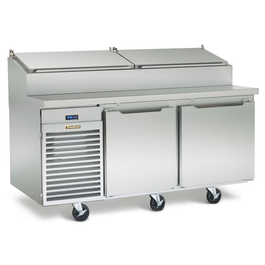 "Traulsen TS072HT 72"" Sandwich/Salad Prep Table w/ Refrigerated Base, 115v"