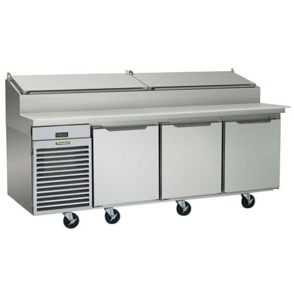 "Traulsen TS090HT 90"" Sandwich/Salad Prep Table w/ Refrigerated Base, 115v"