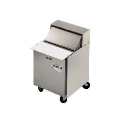 "Traulsen UPT276-L 27"" Sandwich/Salad Prep Table w/ Refrigerated Base, 115v"