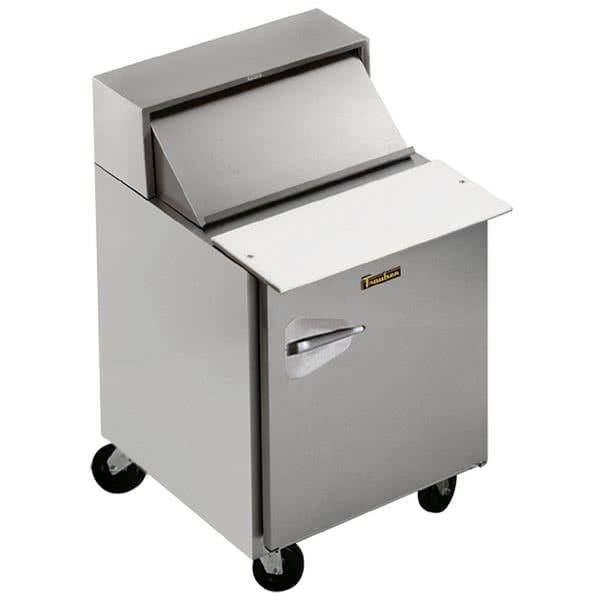 "Traulsen UPT279-L 27"" Sandwich/Salad Prep Table w/ Refrigerated Base, 115v"