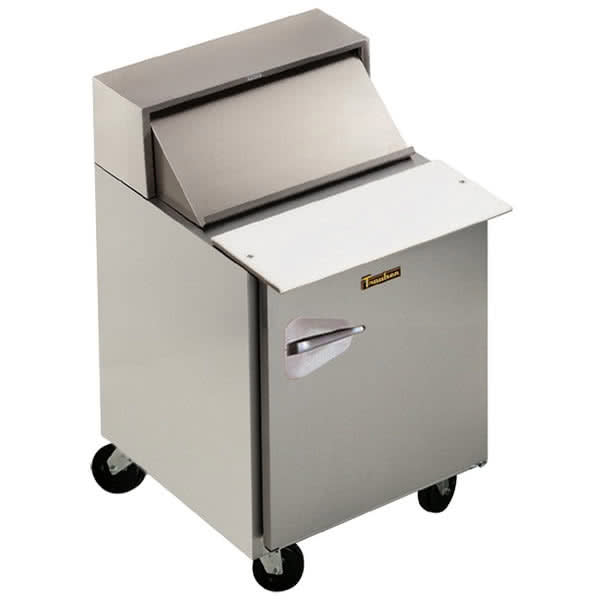 "Traulsen UPT328-R 32"" Sandwich/Salad Prep Table w/ Refrigerated Base, 115v"