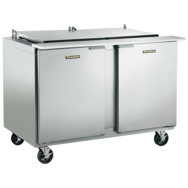 "Traulsen UST4818-LR 48"" Sandwich/Salad Prep Table w/ Refrigerated Base, 115v"