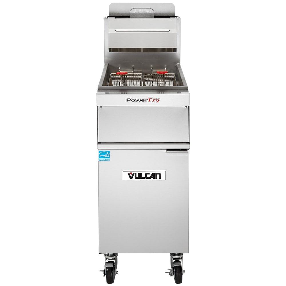 Vulcan 1TR45AF Gas Fryer - (1) 50 lb Vat, Floor Model, NG
