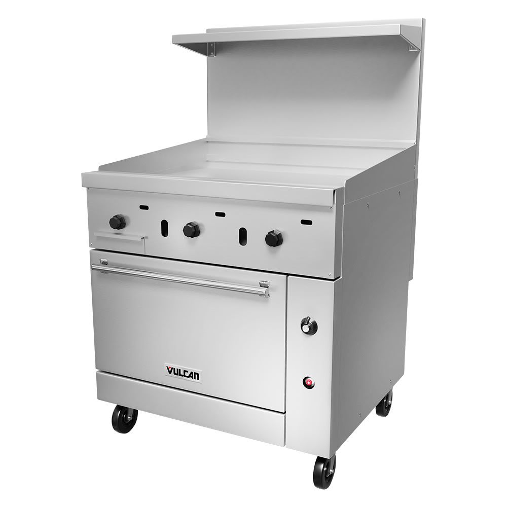 "Vulcan 36S-36GT 36"" Gas Range with Griddle, NG"