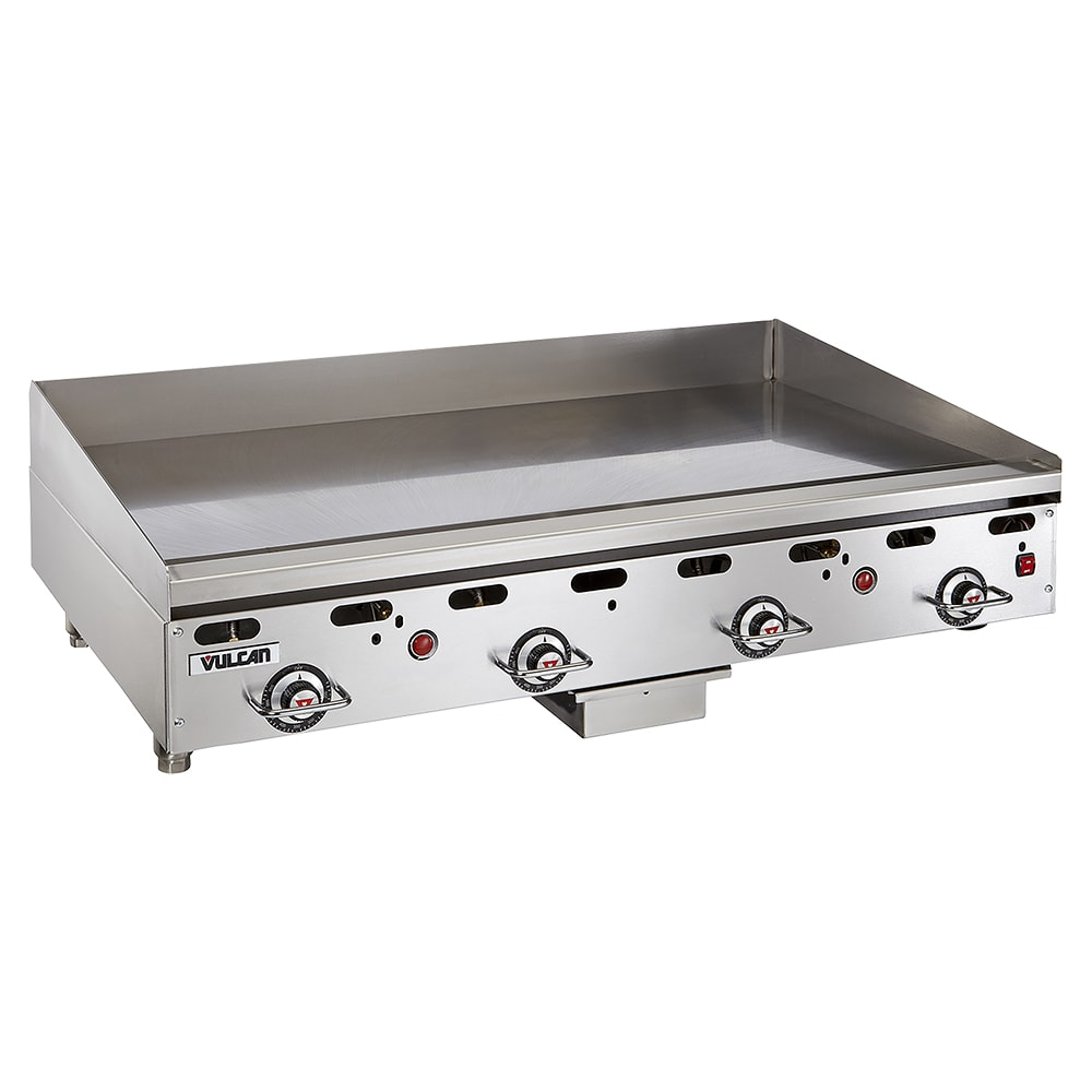 "Vulcan 948RX 48"" Gas Griddle - Thermostatic, 1"" Steel Plate, NG"