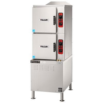 Vulcan C24EA10 PS Electric Floor Model Steamer w/ (10) Full Size Pan Capacity, 240v/1ph