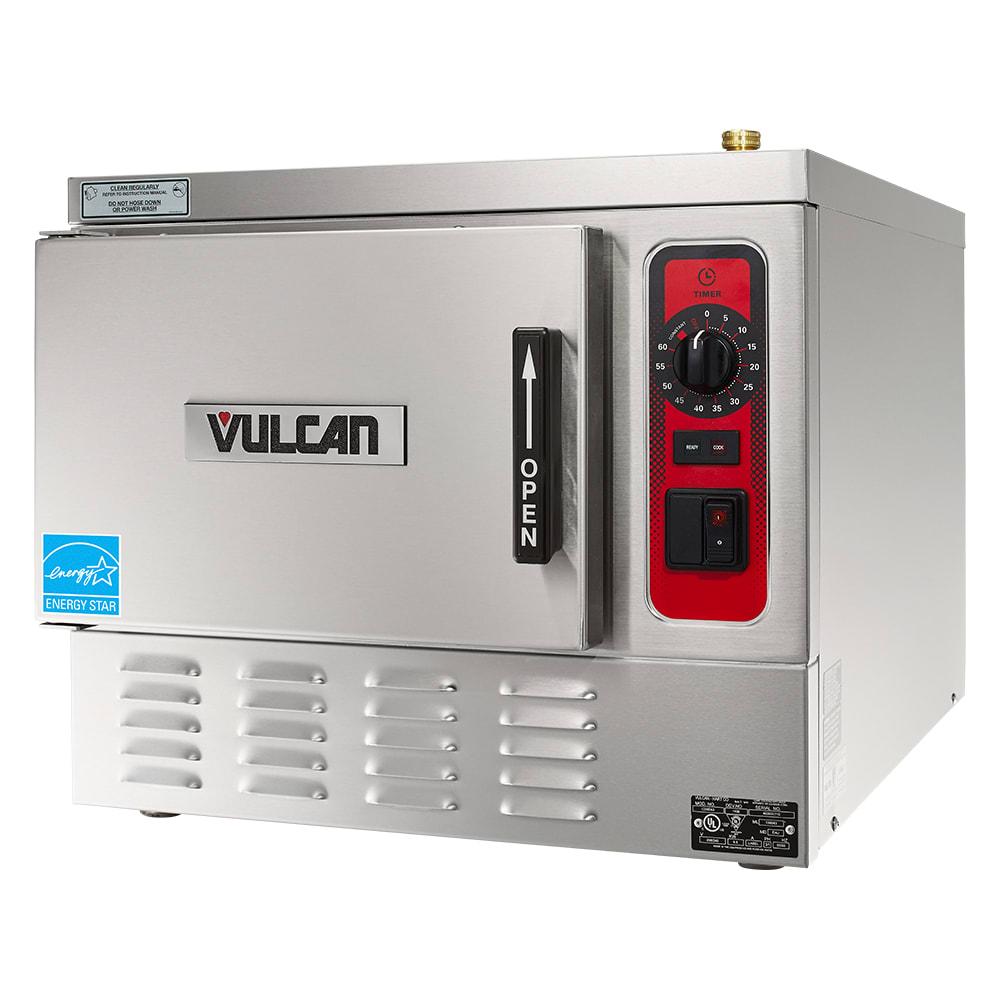 Vulcan C24EA3 PLUS Electric Countertop Steamer w/ (3) Full Size Pan Capacity, 240v/3ph