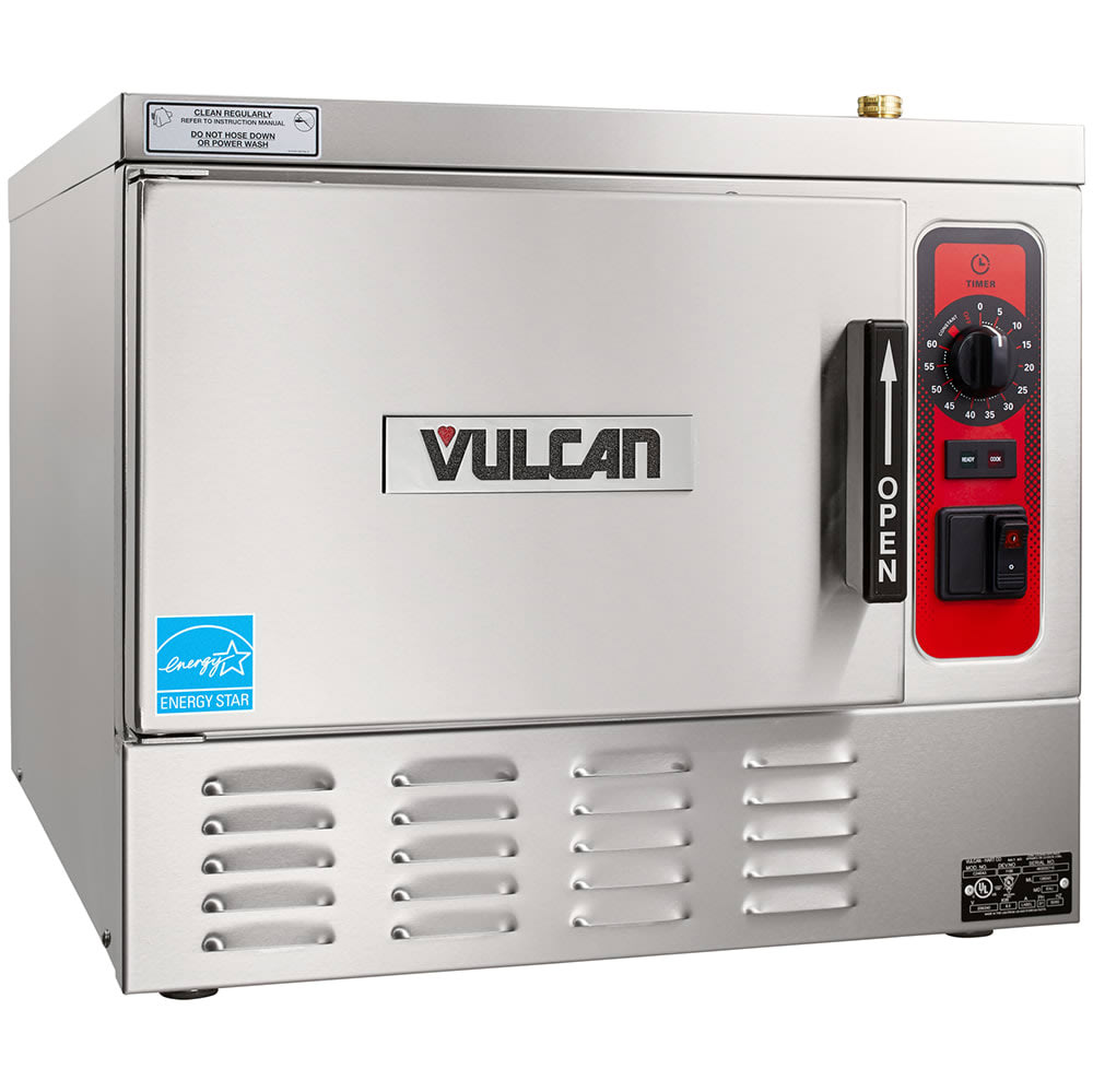 Vulcan C24EA3-LWE Electric Countertop Convection Steamer w/ (3) Full Size Pan Capacity, 208v/3ph