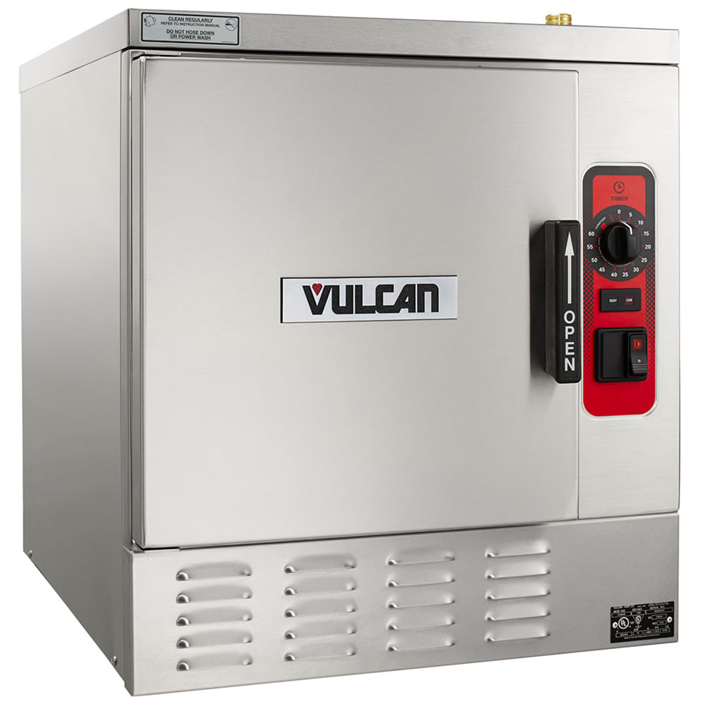 Vulcan C24EA5-LWE Electric Countertop Convection Steamer w/ (5) Full Size Pan Capacity, 208v/3ph
