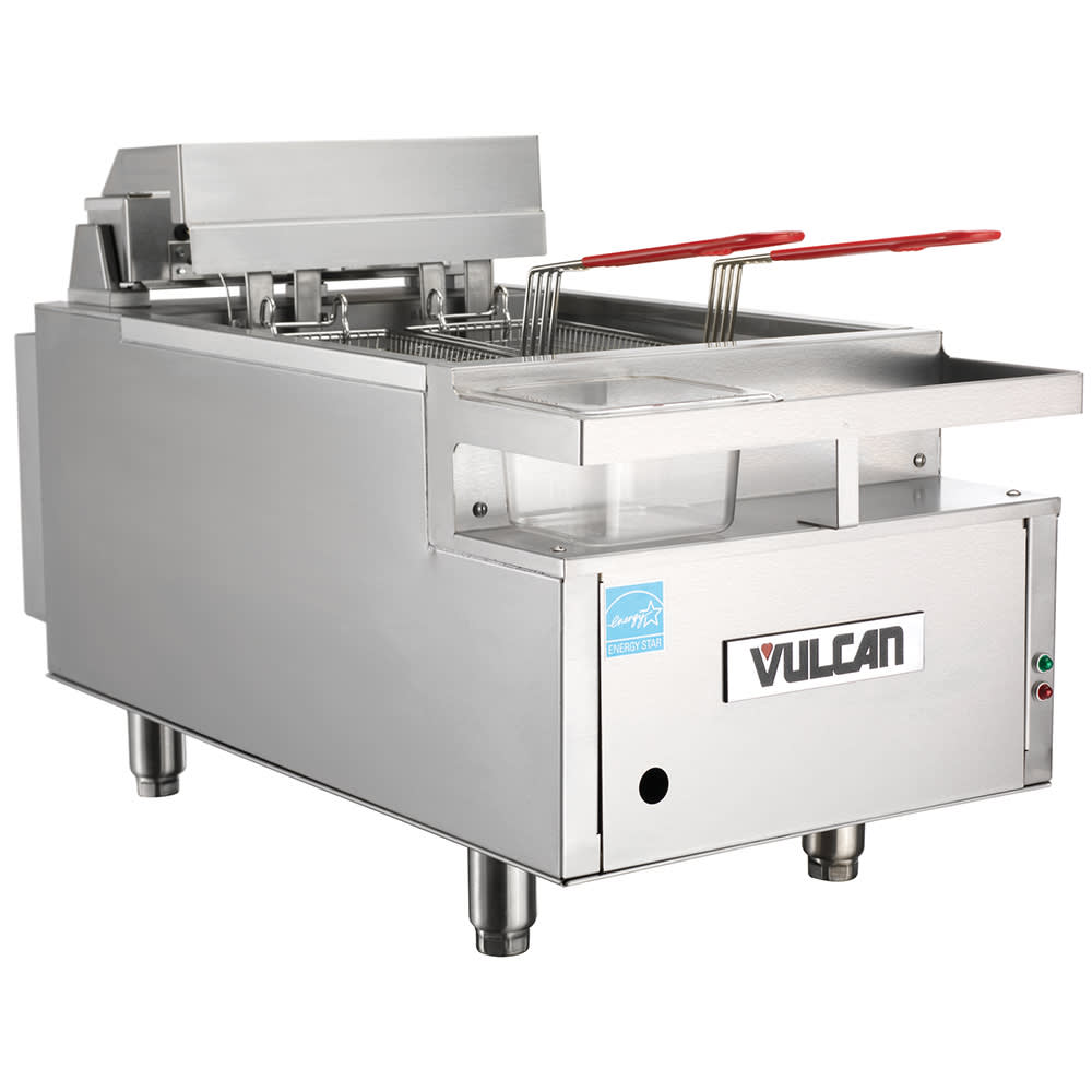 Vulcan CEF40 Countertop Electric Fryer - (1) 40-lb Vat, 208v/3ph
