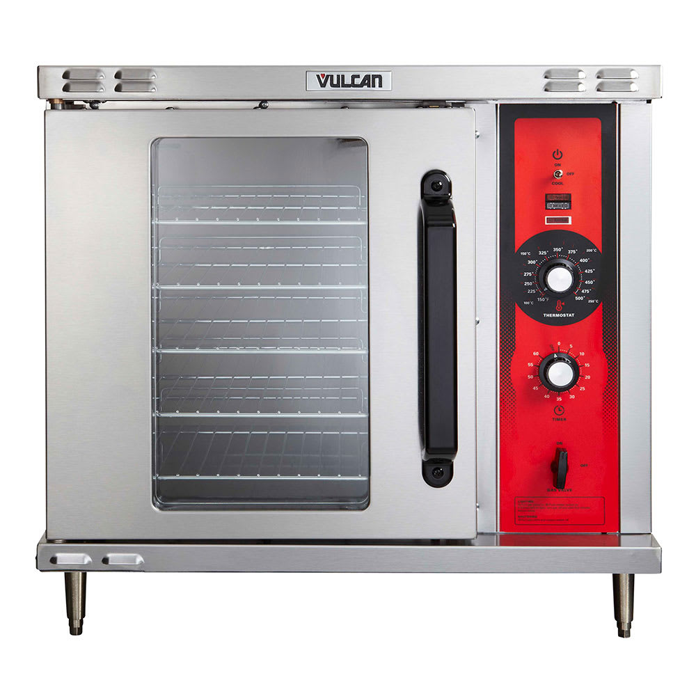 Vulcan ECO2D Half Size Electric Convection Oven, 208v/3ph