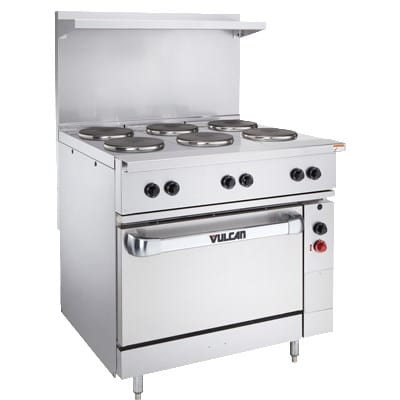 "Vulcan EV36-S-2FP24G208 36"" Electric Range w/ Griddle, 208v/3ph"