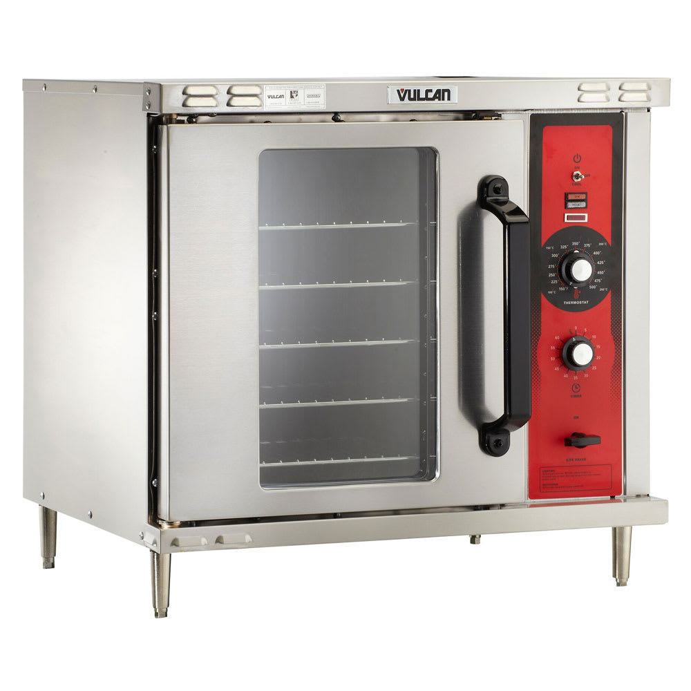 Vulcan GCO2D Half Size Gas Convection Oven, LP