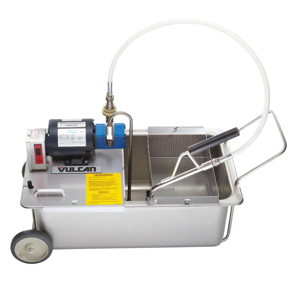 Vulcan MF-1 110-lb Commercial Fryer Filter - Suction, 120v