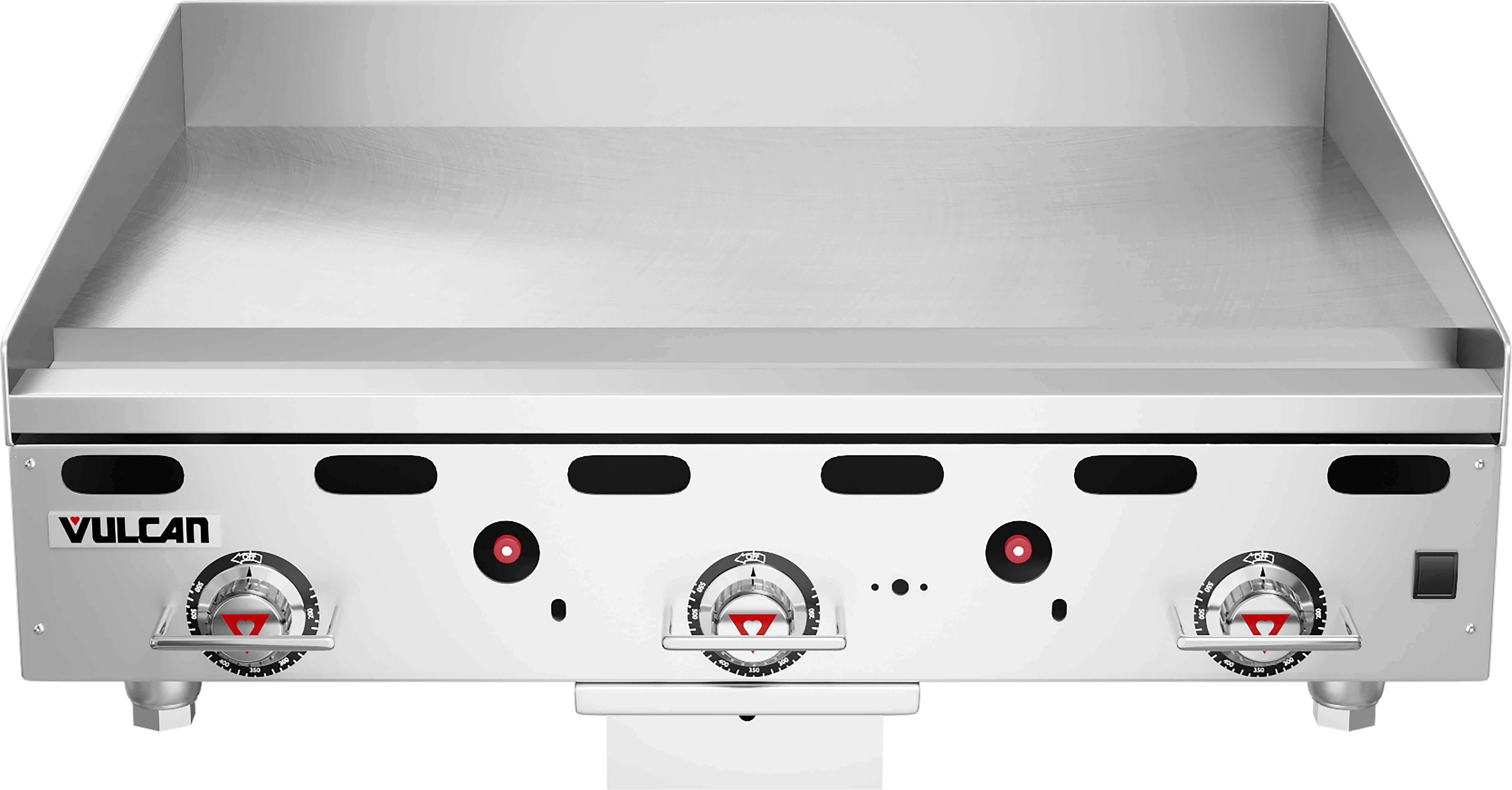 "Vulcan MSA36-30 36"" Gas Griddle - Thermostatic, 1"" Steel Plate, NG"