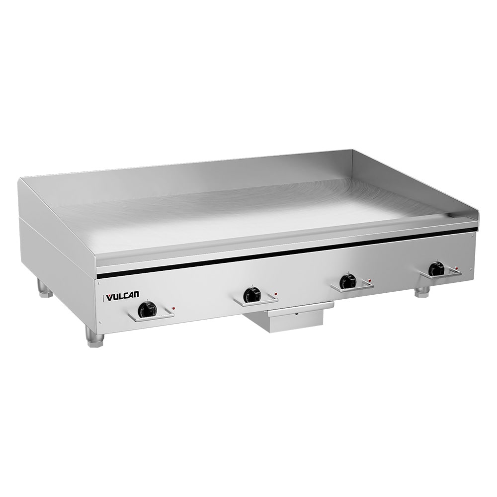 """Vulcan RRE48E 48"""" Electric Griddle - Thermostatic, 3/4"""" Steel Plate, 208v/1ph"""