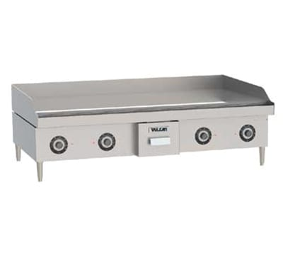 Vulcan RRE48D 4803 48 in Heavy Duty Countertop Griddle w/ Snap Action Thermostat, 480/3 V