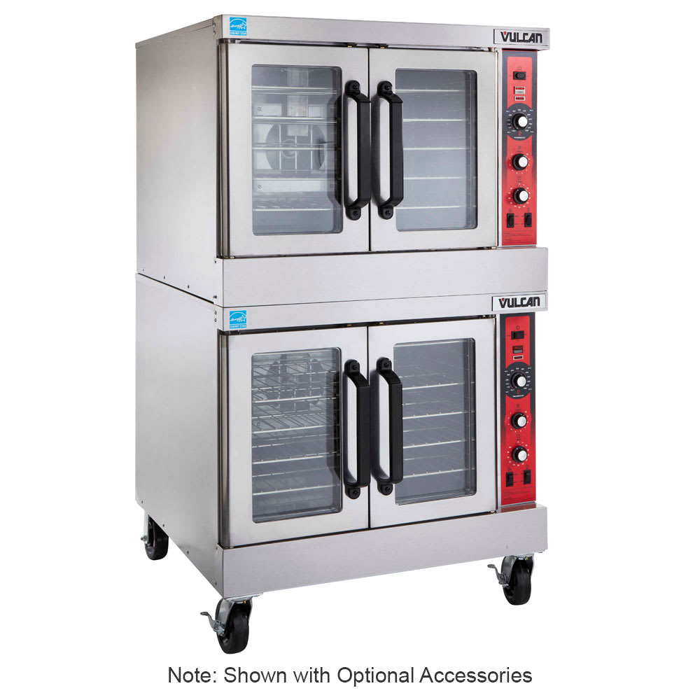 Vulcan SG44 Double Full Size LP Gas Convection Oven - 60,000 BTU