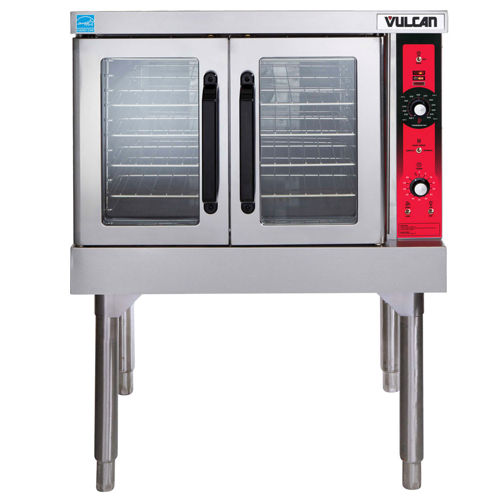 Vulcan SG4 Single Full Size LP Gas Convection Oven - 60,000 BTU