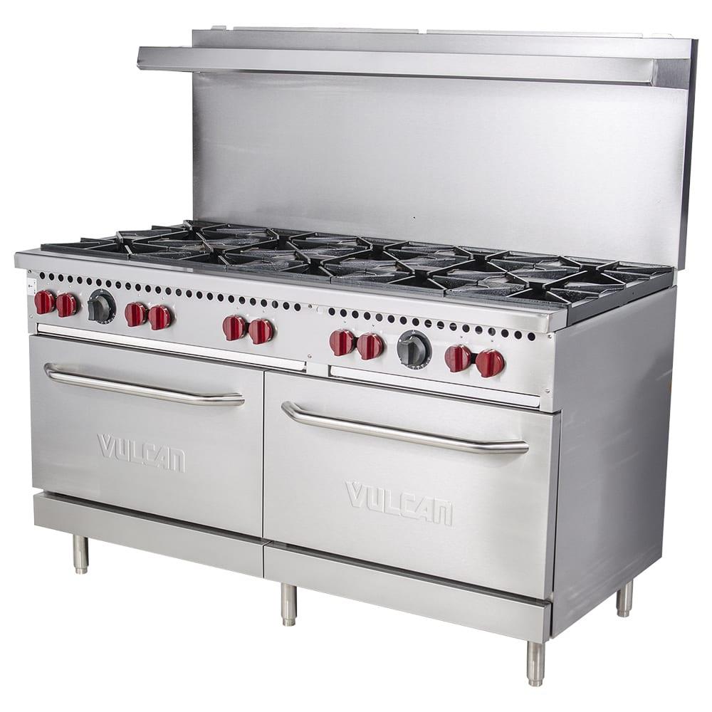 "Vulcan SX60-10B 60"" 6-Burner Gas Range w/ Standard Oven, NG"
