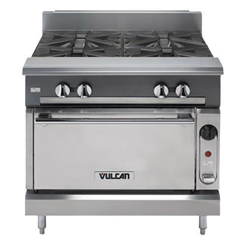 """Vulcan V4B24 24"""" 4-Burner Gas Range, LP"""
