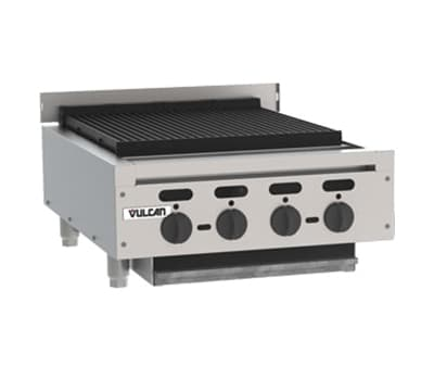 "Vulcan VACB25 25-3/8"" Radiant Charbroiler w/ Cast Iron Grates, LP"