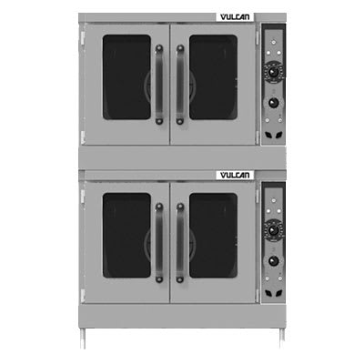 Vulcan VC55ED Double Full-Size Electric Convection Oven - 208v/3ph