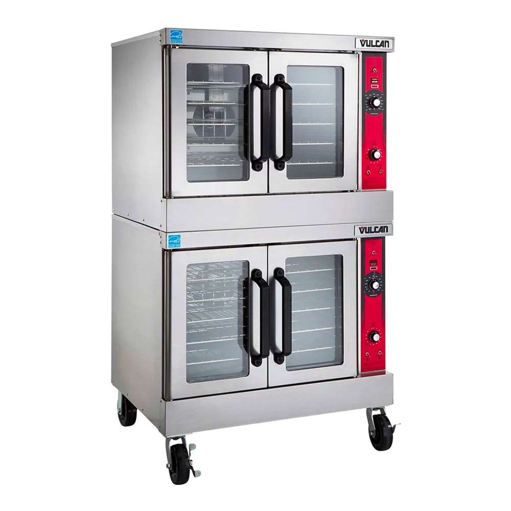 Vulcan VC44GD Double Full Size Gas Convection Oven - LP