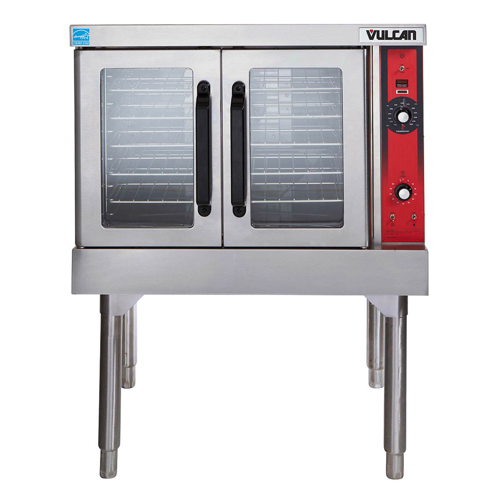 Vulcan VC4GD Single Full Size Natural Gas Convection Oven - 50,000 BTU