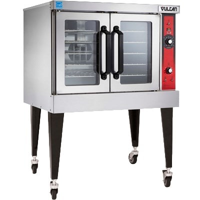 Vulcan VC6ED Full Size Electric Convection Oven - 208v/1ph